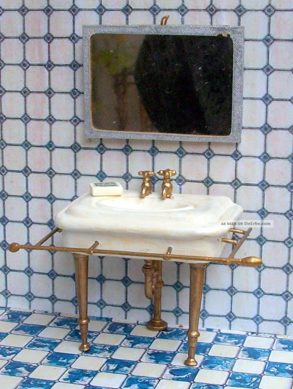Dekoratives nostalgisches waschbecken badezimmer - Waschbecken badezimmer ...
