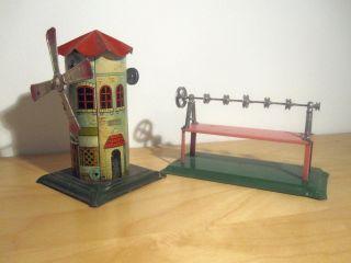 Bing Windmühle Mit Transmission Bild