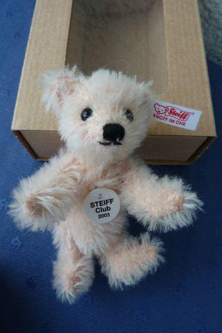 Steiff Club - Teddybär - Rose - 7cm - 2003 Bild