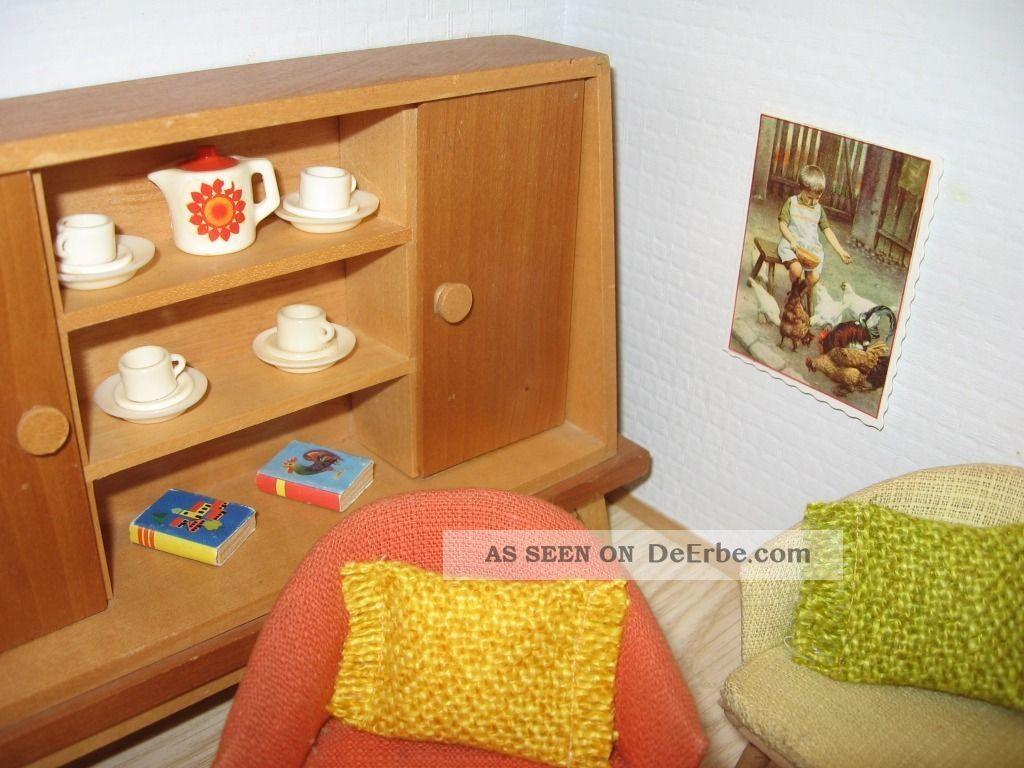 bodo hennig m bel wohnen 50er jahre lampe puppenhaus puppenstube puppenk che. Black Bedroom Furniture Sets. Home Design Ideas