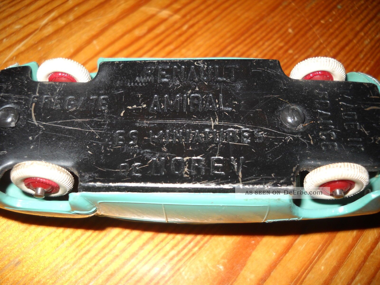 Spielzeugauto er jahre plastikmodell renault made in