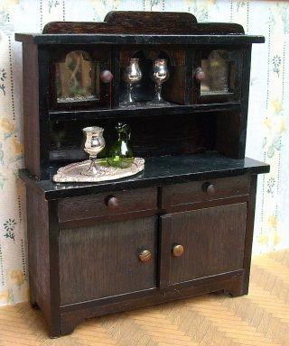 antikspielzeug puppen zubeh r puppenstubenzubeh r original gefertigt vor 1970 m bel. Black Bedroom Furniture Sets. Home Design Ideas