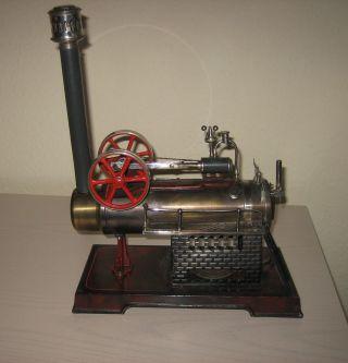 Dampfmaschine (stationäres Lokomobil) Doll Nürnberg Wohl 511/3 Bild