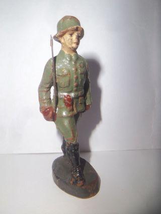 G22 Massefigur - Soldat Offizier - 6,  5 Cm - Elastolin Bild