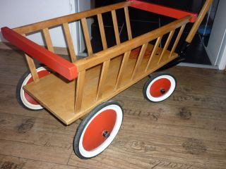 Orgi.  Steiff Bollerwagen - Leiterwagen Nr.  4837/l Bild