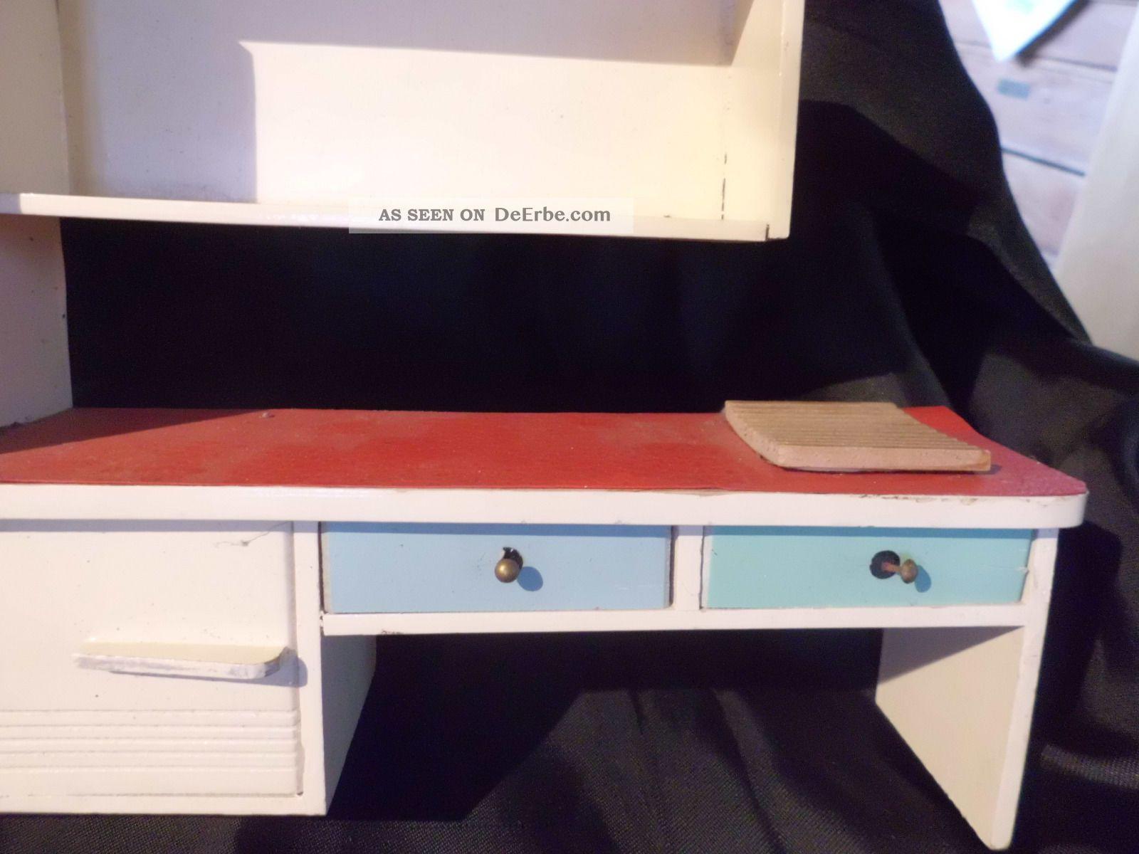 omas alte m bel f r puppenstube puppenhaus k che. Black Bedroom Furniture Sets. Home Design Ideas