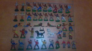 Konvolut Alte Indianer Und Cowboys Ddr Bild