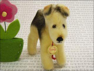 Hermann Alter10cm Kleiner Airedale Terrier Hund Id Old 3,  9