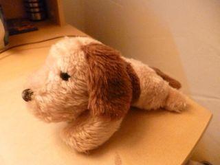 Heunec Hund Liegend Plüschtier Kuscheltier Stofftier Plüsch Plüschhund Teddy Alt Bild