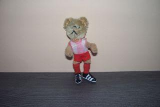Schuco Mascott Teddybär Hegi 7800 Bayern München,  Ca.  1960/70 - 9 Cm Groß Bild