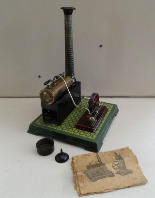 Dampfmaschine Bing Ca.  1920/30 Bild