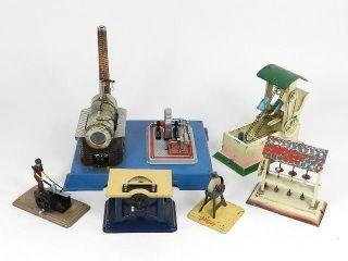 Dampfmaschine Wilesco Und Diverse Aggregate Bild