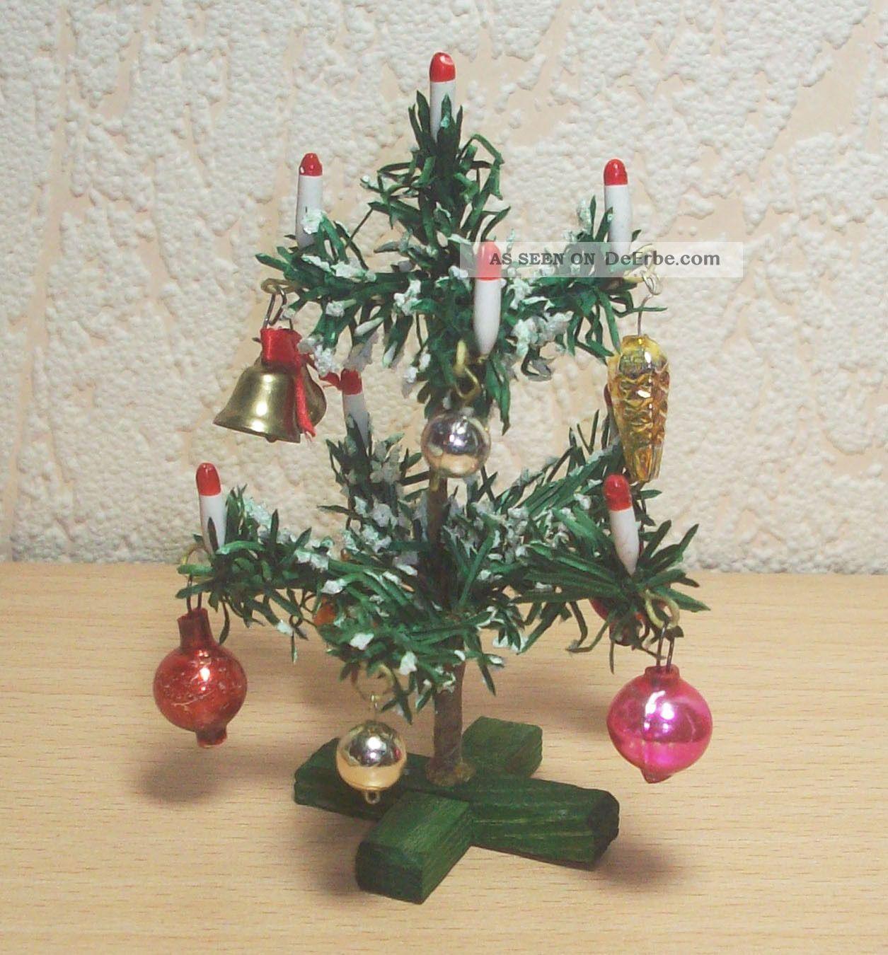 weihnachtsbaum christbaum f r puppenstube puppenhaus ca. Black Bedroom Furniture Sets. Home Design Ideas