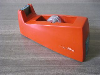 Tesafilm Abroller Tischabroller Tesa 70ies Klebeband Bild