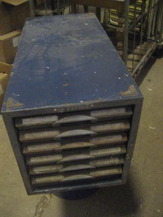 Kardex Sammeln Schrank Stahl Vintage Loft Mid Century Bild
