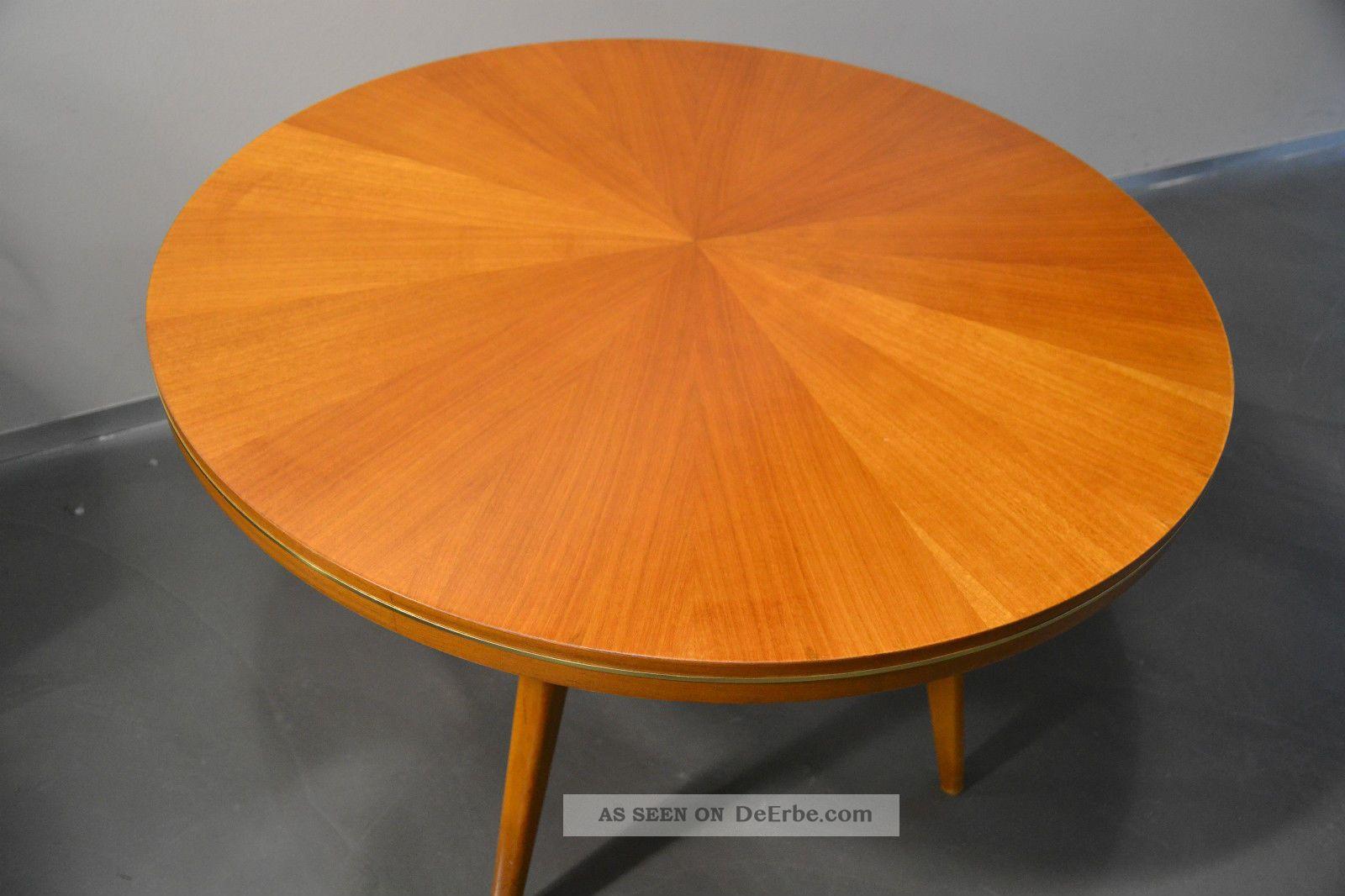 Coffeetable Tisch Couchtisch Ilse Möbel 50er 60er Buche