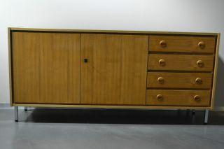 Design Sideboard Anrichte Kommode 60er 70er Jahre Teak Teakholz Mid Century Bild
