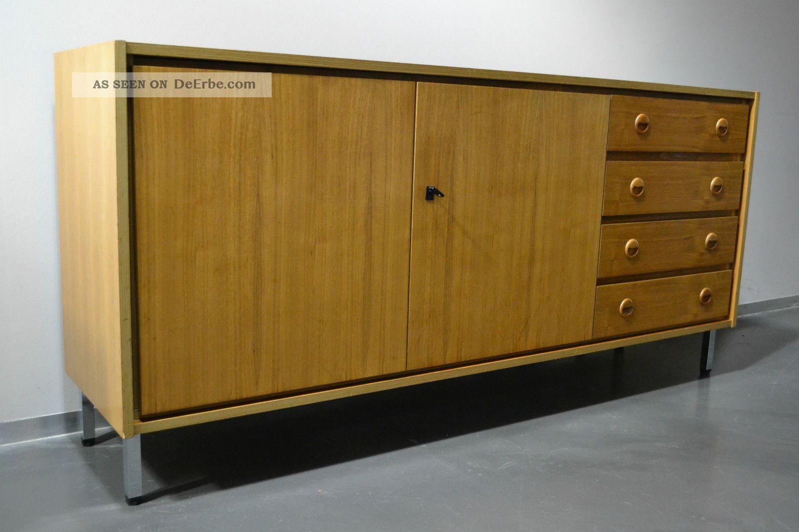 Design sideboard anrichte kommode 60er 70er jahre teak for Anrichte teak