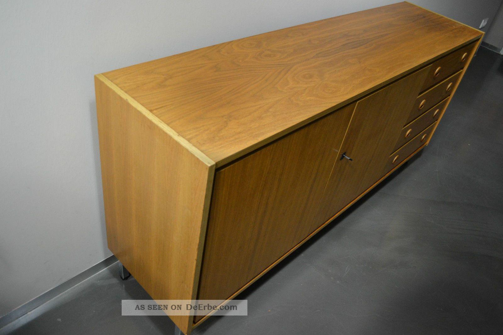 design sideboard anrichte kommode 60er 70er jahre teak. Black Bedroom Furniture Sets. Home Design Ideas
