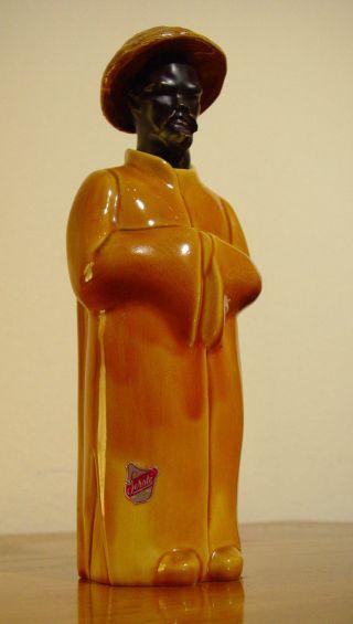 Likörflasche 50s 50er Keramik Porzellan Chinesischer Mönch Artist Paul Serste Bild