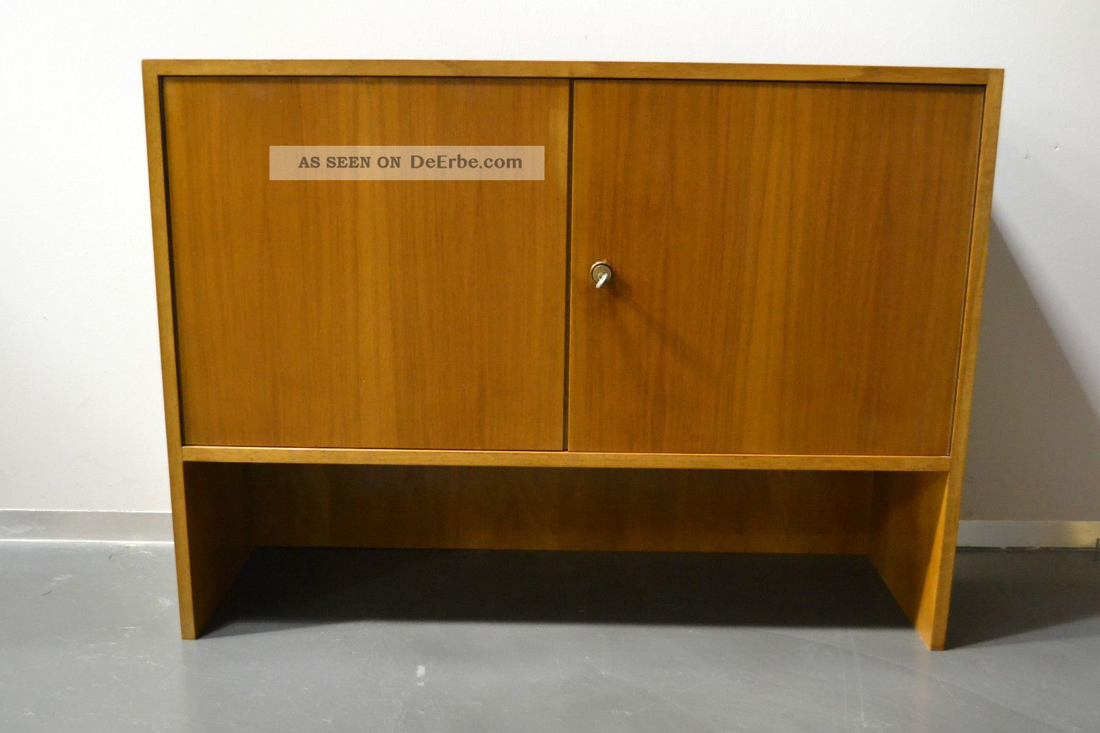 Kleines sideboard kommode anrichte aufsatz 60er 70er teak for Sideboard 60er 70er