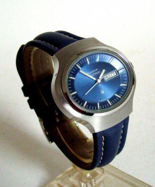 Bulova Accutron Stimmgabeluhr Designklassiker 1974 Unisex Neuwertig Bild