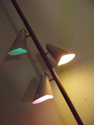 50s Pole Lamp Usa Einspannleuchte - 50er/60er Atomic Sputnik,  TÜtenlampe Bild