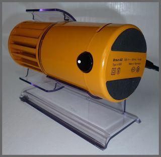 Braun Hl70 Tischventilator Ventilator LÜfter Fan TischlÜfter No 4550 Orange Top Bild