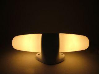 Wilhelm Wagenfeld Lampe Bauhaus Wandlampe Spiegelleuchte Weiß Top Bild
