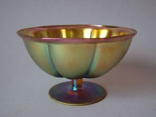 2.  Wmf Myra Seltene Vase Jugendstil Art Deco Rar Ikora Art Nouveau Fußschale Top Bild