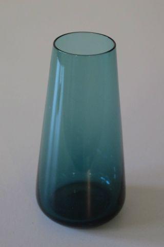 Kl.  Rauchglas - Vase,  Turmalin,  10,  5 Cm Höhe,  Aus Nachlass,  Guter Erhaltgungszustand Bild