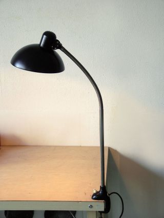 Lampe Bauhaus Christian Dell Idell Kaiser Klemmleuchte Schreibtischlampe Kandem Bild