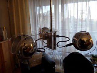 Arteluce Gino Sarfatti Deckenlampe Modell 540 Chrom Arcryl 70er Jahre Bild