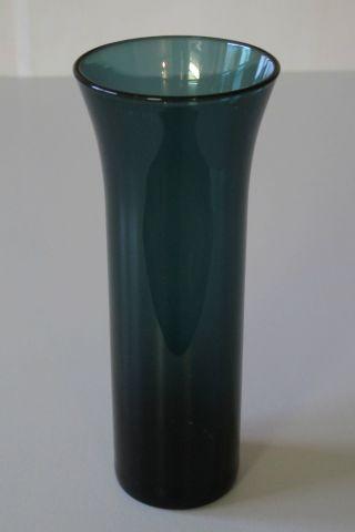 Rauchglas - Vase,  Turmalin,  19 Cm Höhe,  Aus Nachlass,  Guter Erhaltungszustand Bild