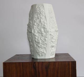 Kaiser Vase Space Age Mid Century Bisquitporzellan Bild