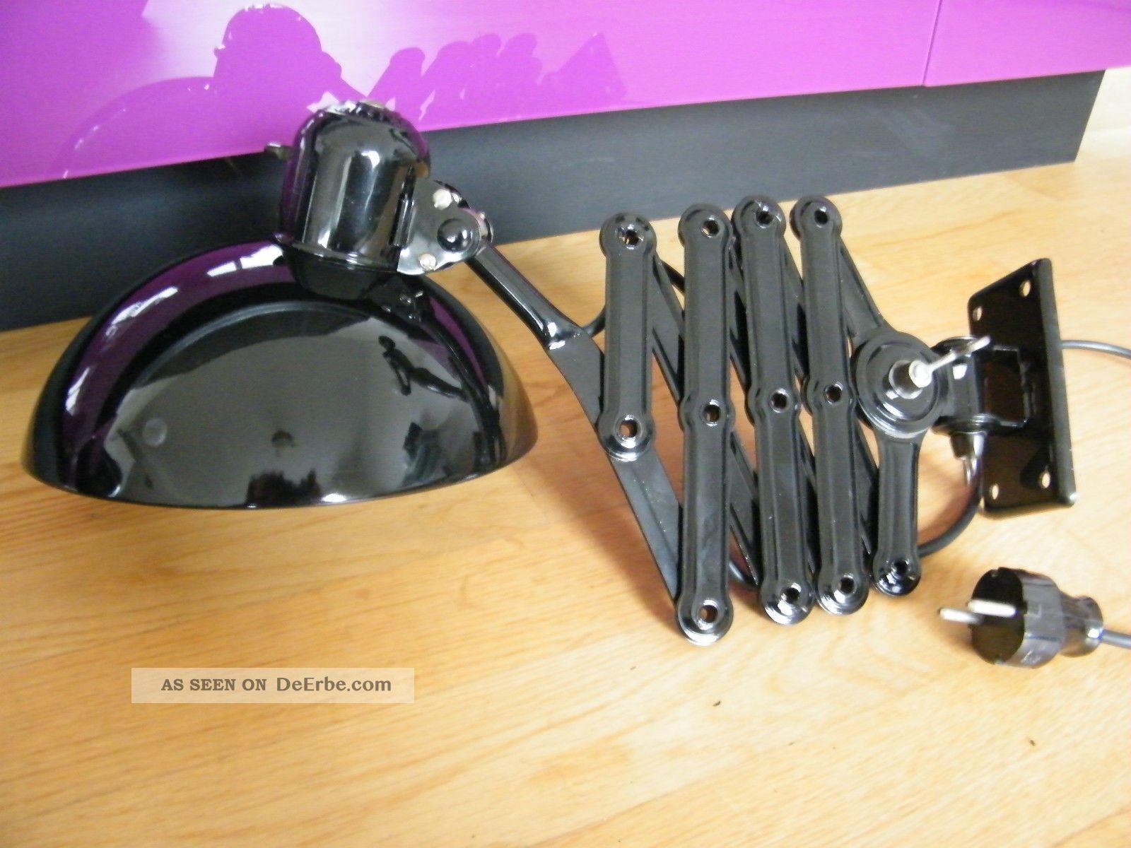 kaiser idell bauhaus scherenlampe mit gro em schirm. Black Bedroom Furniture Sets. Home Design Ideas