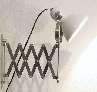 Charmante Scheren - Lampe,  Atelier Bauhaus Loft - Design,  Auszug - Wand - Leuchte Bild