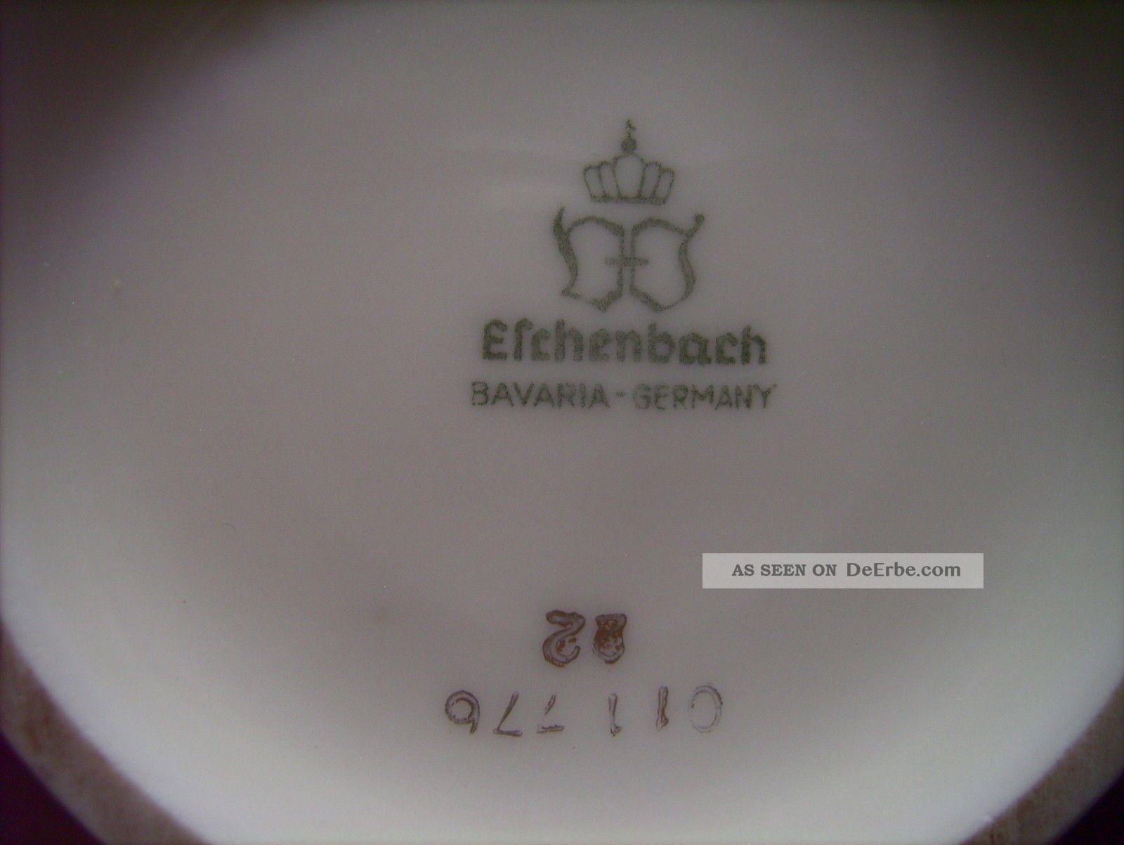 eschenbach alte vase wei elfenbein porzellan goldrand jugendstil art deco. Black Bedroom Furniture Sets. Home Design Ideas