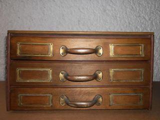 Schubladenschrank,  Schrank,  Industrie Sortierschrank 3 Schubladen Art Deco Bild