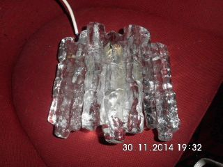Eisglas Pendelleuchte Von Kalmar Franken Bild