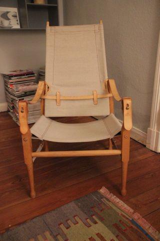 Absolute Designrarität Marstaller Bema Safari Sessel Im Bestzustand Bild