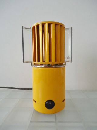 Braun Tischlüfter LÜfter Ventilator Typ Hl70 R.  Weiss/j.  Greubel 1971 Bild