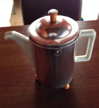 Kaffeekanne Wmf Bauscher Weiden Thermisol Versilbert Bild