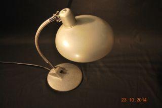 Bauhaus Tischlampe Schreibtischlampe Ca 1950 - 60 - Lackierung Gut Erhalten Bild