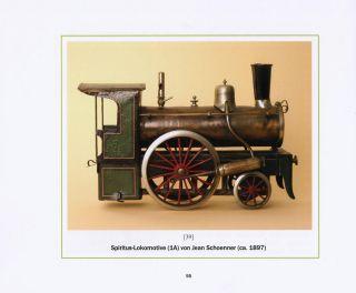 Historische Spiritus - Lokomotiven,  Spielzeug - Eisenbahnen Im 19.  Jahrhundert Bild