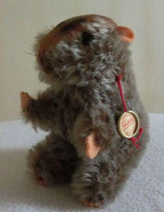 Alter Hamster Stofftier Plüschtier Hermann Teddy Aus 60er Bild