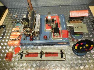 Wilesco Dampfmaschine D20 Mit Zubehör Und Originalkarton Bild