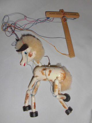 Marke Pelham Marionette Pferd Holz Weihnachten Ovp Bild