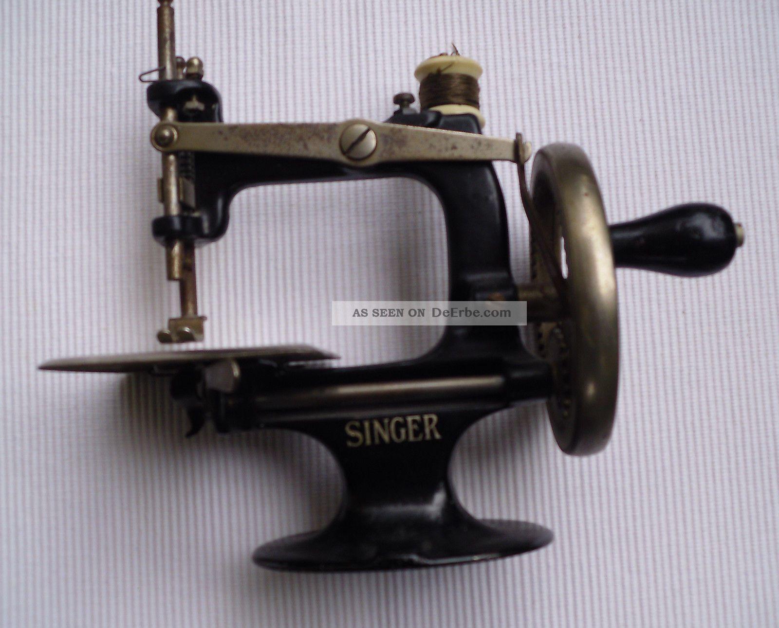 antike kinder n hmaschine singer manufact company usa. Black Bedroom Furniture Sets. Home Design Ideas