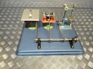 Wilesco M56 Modellplatte Bild